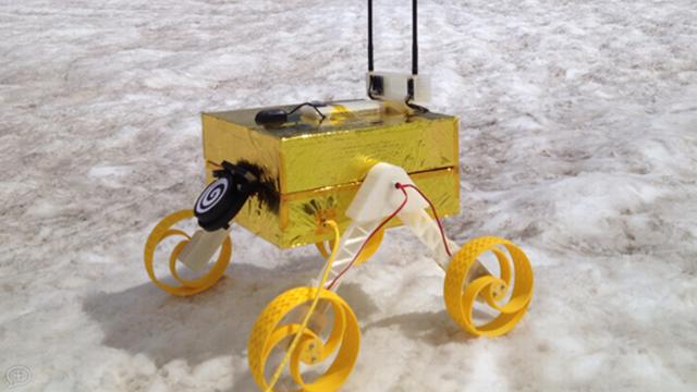 Le robot Constellation de la mission Octanis 1. EPFL - Octanis 1 [EPFL - Octanis 1]