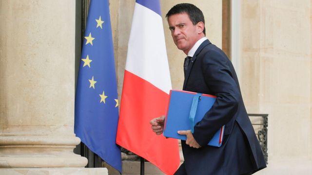 Manuel Valls va-t-il démissionner? [Geoffroy Van Der Hasselt - Anadolu Agency/AFP]