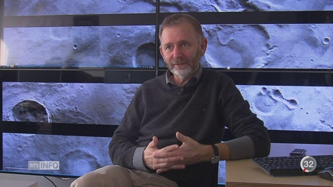 Une caméra suisse a pu réaliser des images de la planète Mars [RTS]