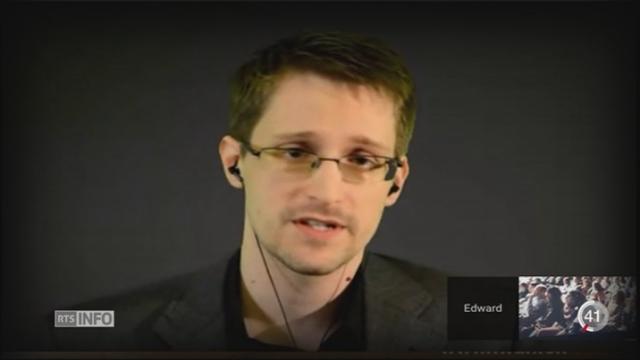 L'ambassade américaine a rencontré les autorités suisses au sujet de Snowden [RTS]