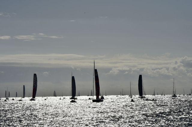 Après 24  jours de course, les navigateurs du Vendée Globe sont actuellement très au sud, dans une zone dangereuse, en raison de la présence d'icebergs. [Loic Venance - AFP]