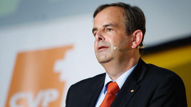 Le président du PDC Gerhard Pfister. [Eddy Risch - Keystone]