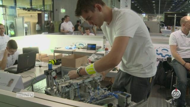 VD: l'industrie de précision lance une opération séduction au salon des métiers à Lausanne [RTS]