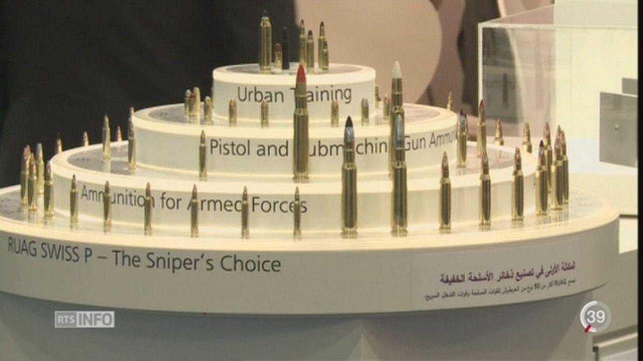 Le géant de l'armement suisse Ruag s'implante aux Émirats arabes unis [RTS]