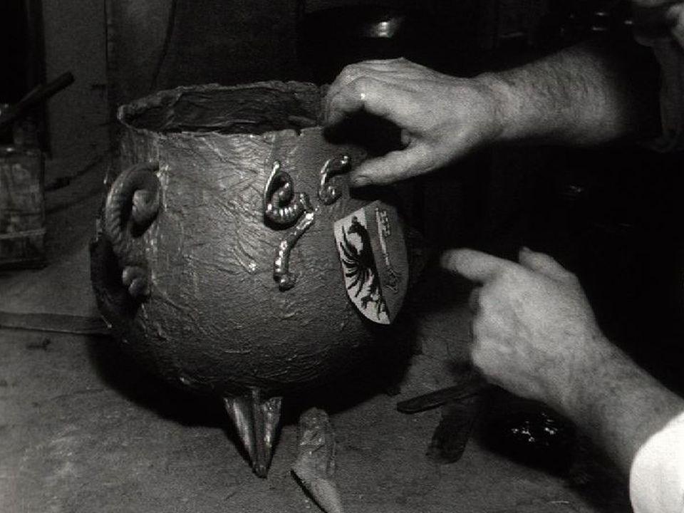Marmite de l'Escalade en 1962. [RTS]