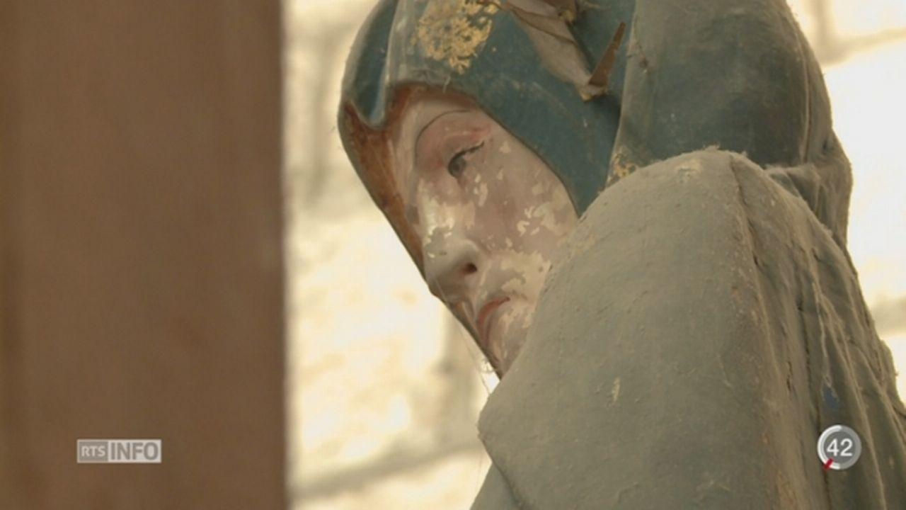 Les victimes d'abus sexuel dans le cadre de l'église catholique pourront désormais être indemnisées [RTS]