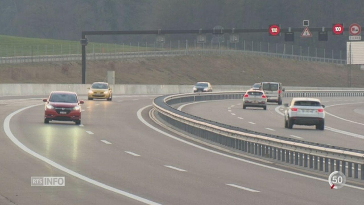 Le dernier tronçon de 5 kilomètres de la Transjurane a été ouvert au trafic [RTS]