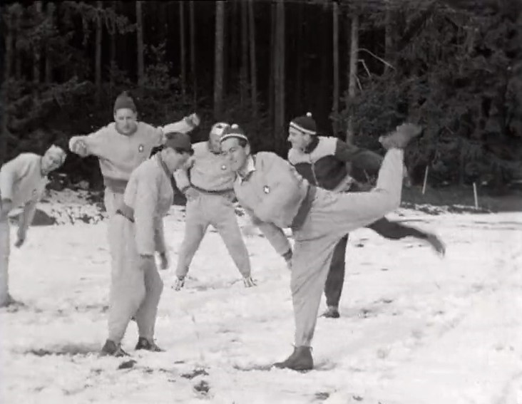 Exercices hivernaux !
