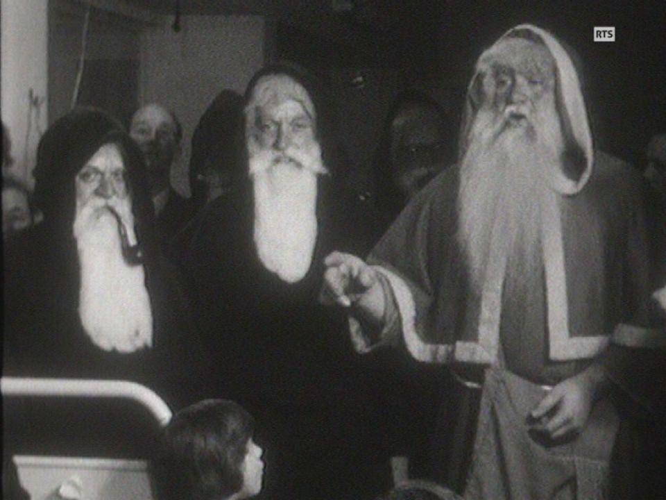Visite du Père-Noël [RTS]