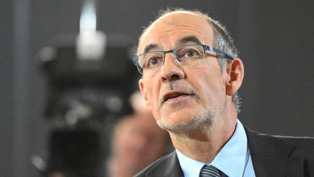 Le conseiller national Jacques Bourgeois (PLR/FR). [Christian Brun - Keystone]