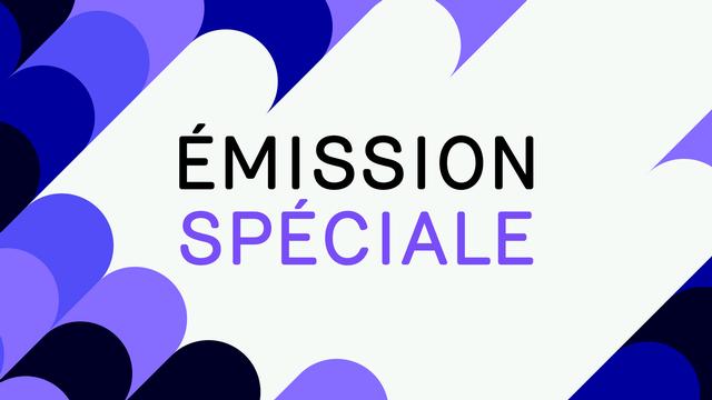 """Logo """"Emission spéciale"""". [RTS]"""