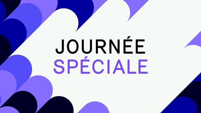 """Logo """"Journée spéciale"""". [RTS]"""