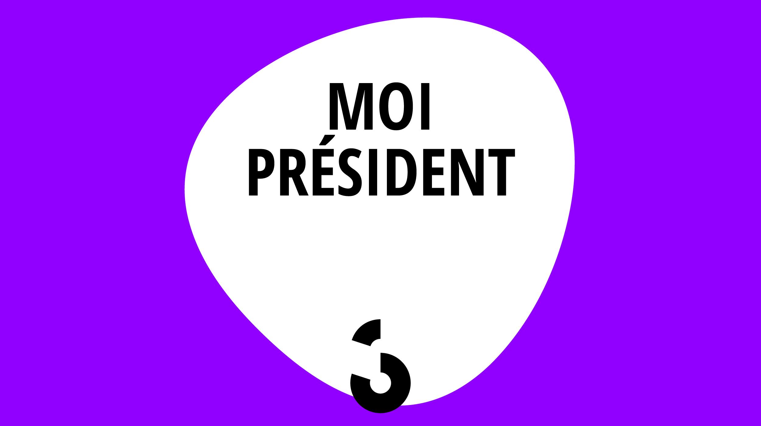 Logo Moi président [RTS]