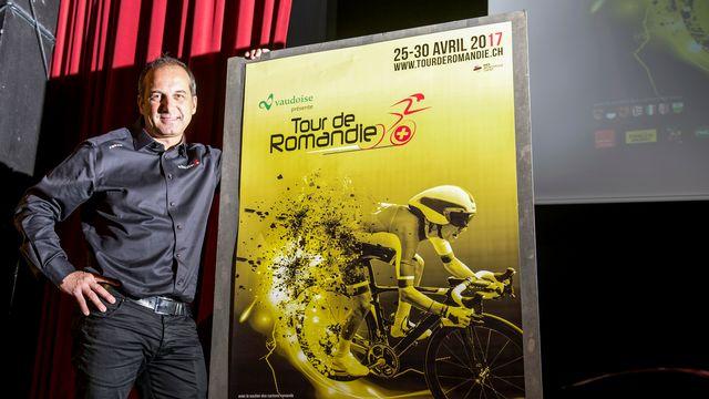 Le directeur du Tour de Romandie Richard Chassot prend la pose. [Leo Duperrex - Keystone]