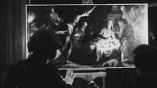 Nativité de Palma le Jeune au Musée d'art et d'histoire de Genève, 1969. [RTS]