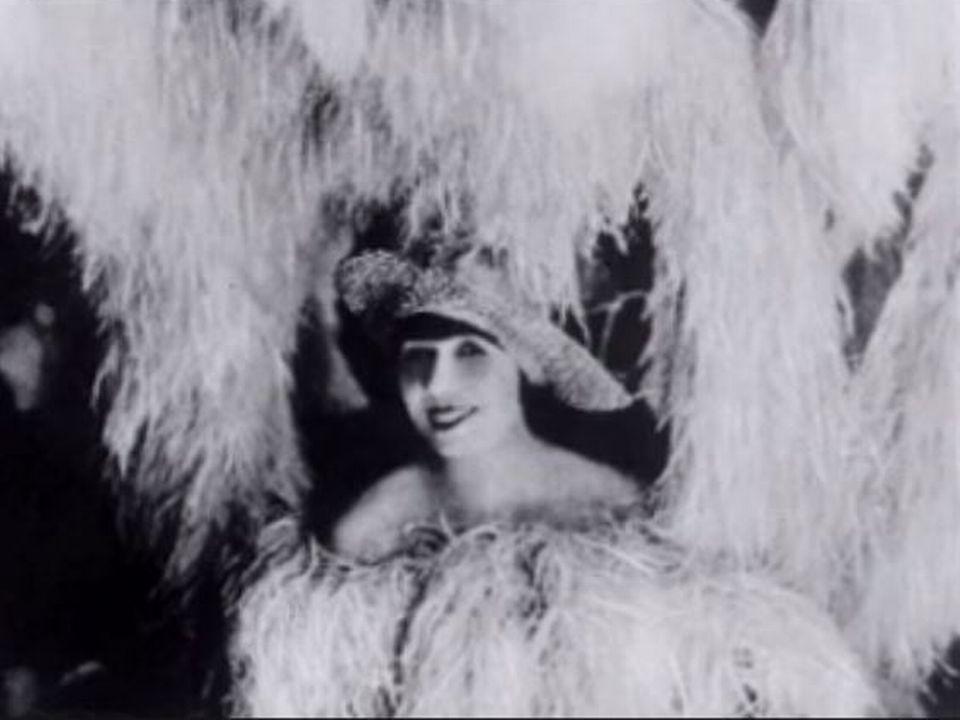 Mistinguett à Paris en 1925. [RTS]