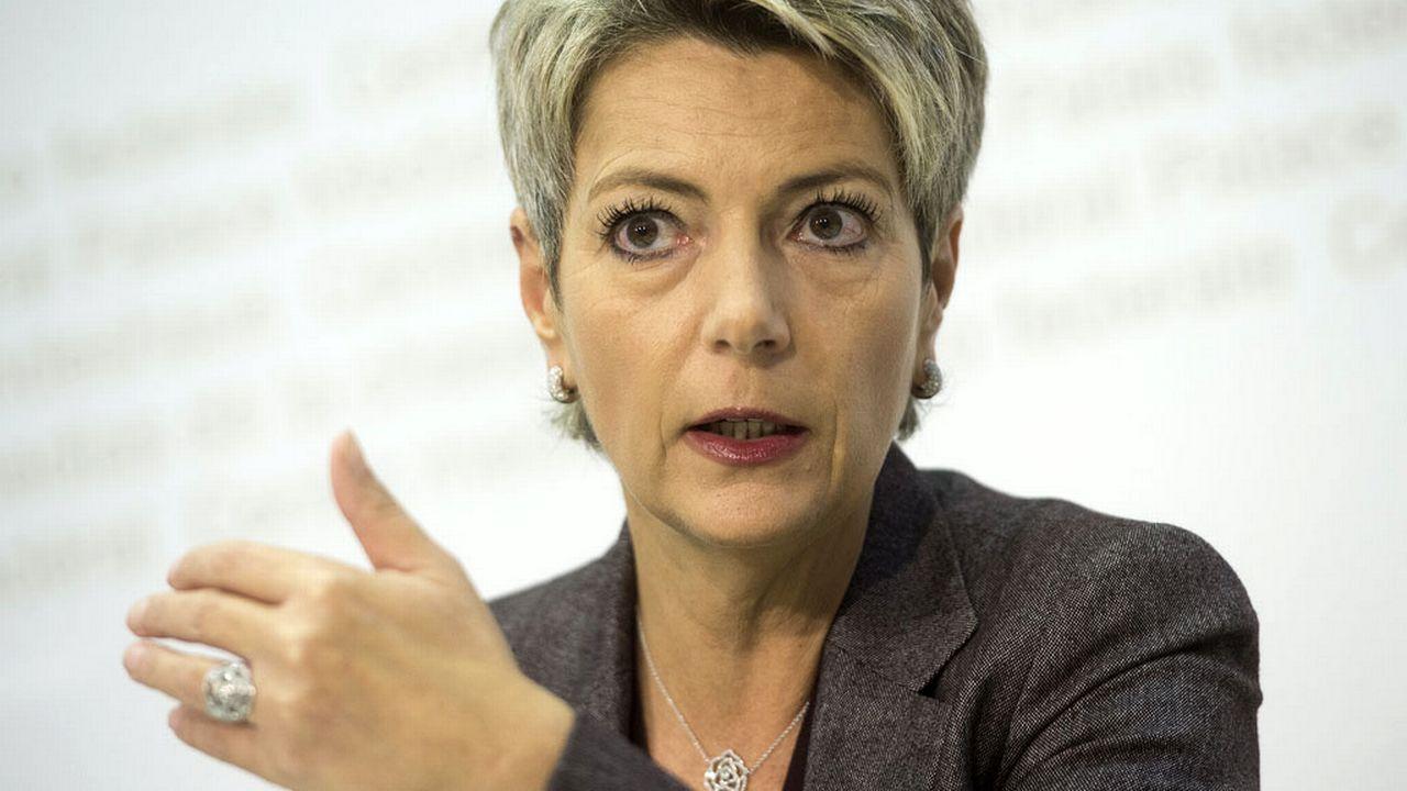 La conseillère aux Etats Karin Keller-Sutter (PLR/SG). [Marcel Bieri - Keystone]