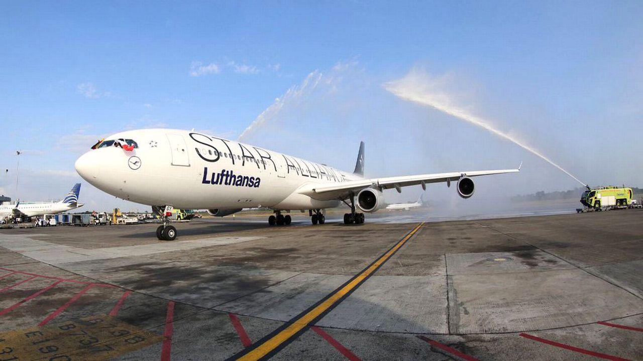 Lufthansa vient d'inaugurer sa nouvelle liaison aérienne vers Panama City. [Airport of Tocumen - EPA/Keystone]