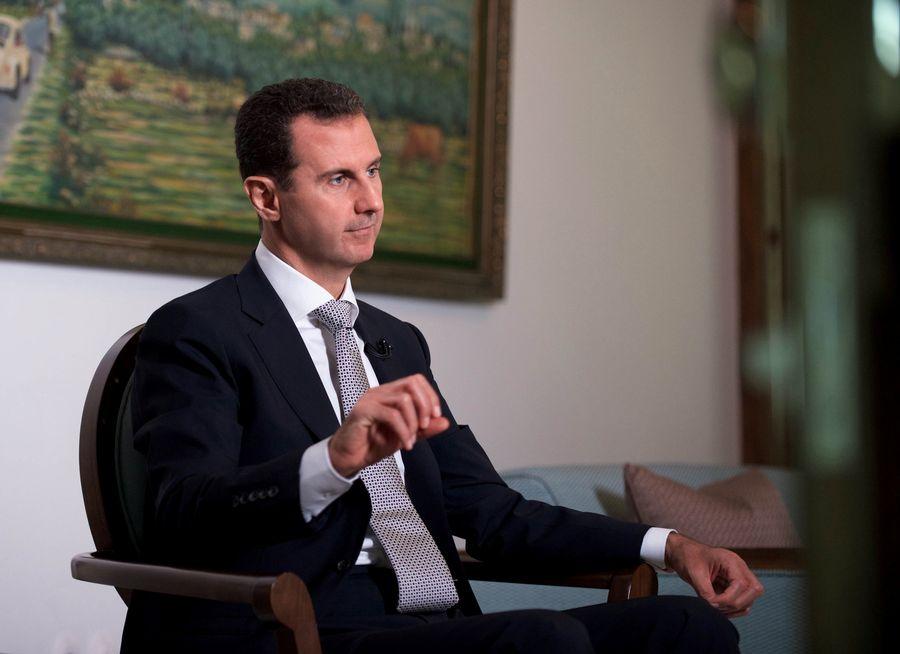 Le président syrien Bachar al-Assad défend la guerre contre les terroristes qui ont envahi la Syrie.