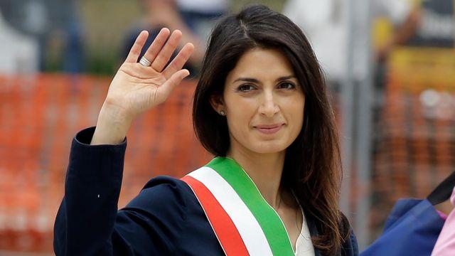 Virginia Raggi est la nouvelle maire de Rome. [Gregorio Borgia - AP/Keystone]