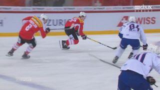 Suisse - France (1-0): Haas ouvre la marque avec une superbe action [RTS]