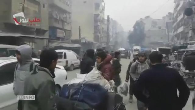 Évacuations suspendues, craintes pour les habitants bloqués — Alep