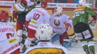Suisse - Bélarus (5-1): Diaz creuse encore l'écart [RTS]