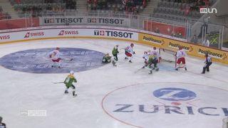 Hockey: retour sur les matchs de la Suisse [RTS]