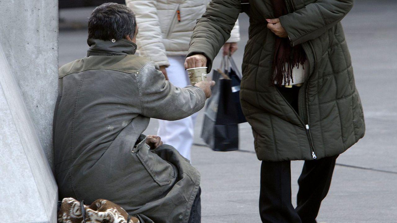 Genève applique l'interdiction de la mendicité depuis 2008. [Salvatore Di Nolfi - Keystone]
