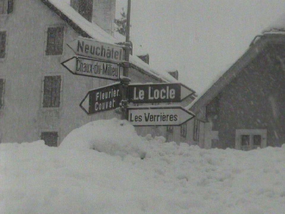 La Brévine en 1963. [RTS]