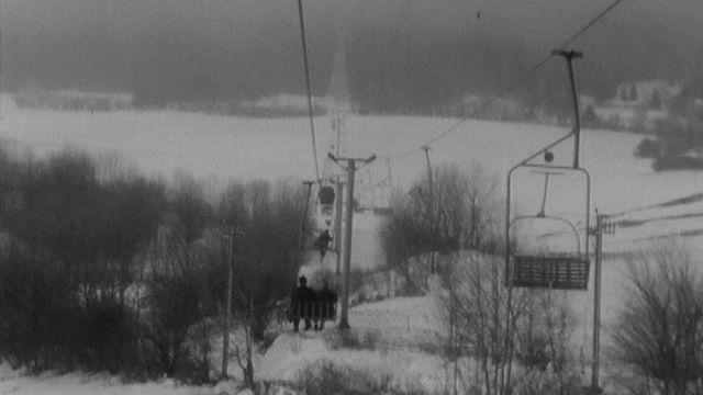 La station de ski de Chasseral, parée. [RTS]