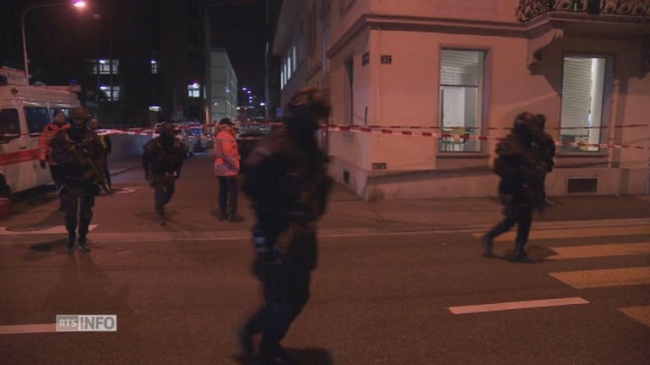 La police boucle le secteur de la fusillade à Zurich [RTS]
