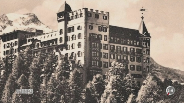 Sils Maria et son hôtel Waldhaus ont inspiré de nombreux auteurs [RTS]