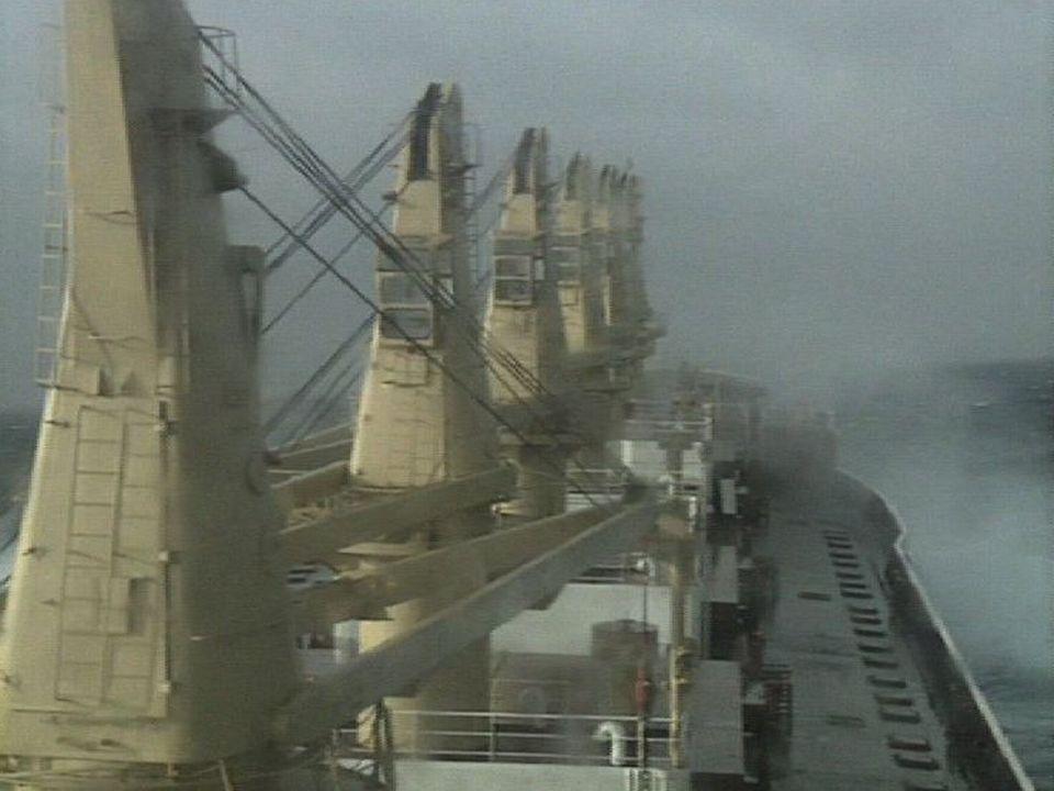 Le navire Le Lavaux en 1990. [RTS]