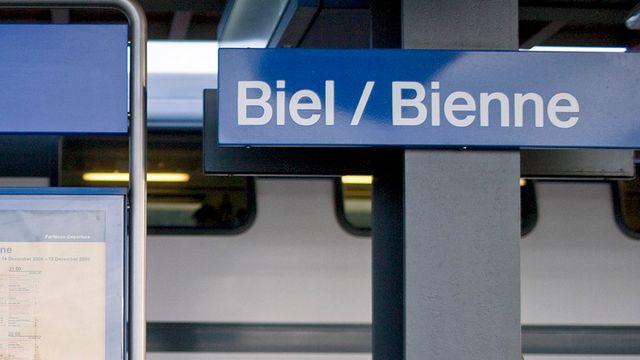 Les francophones de Bienne se disent moins bien traités. [Gaëtan Bally - keystone]