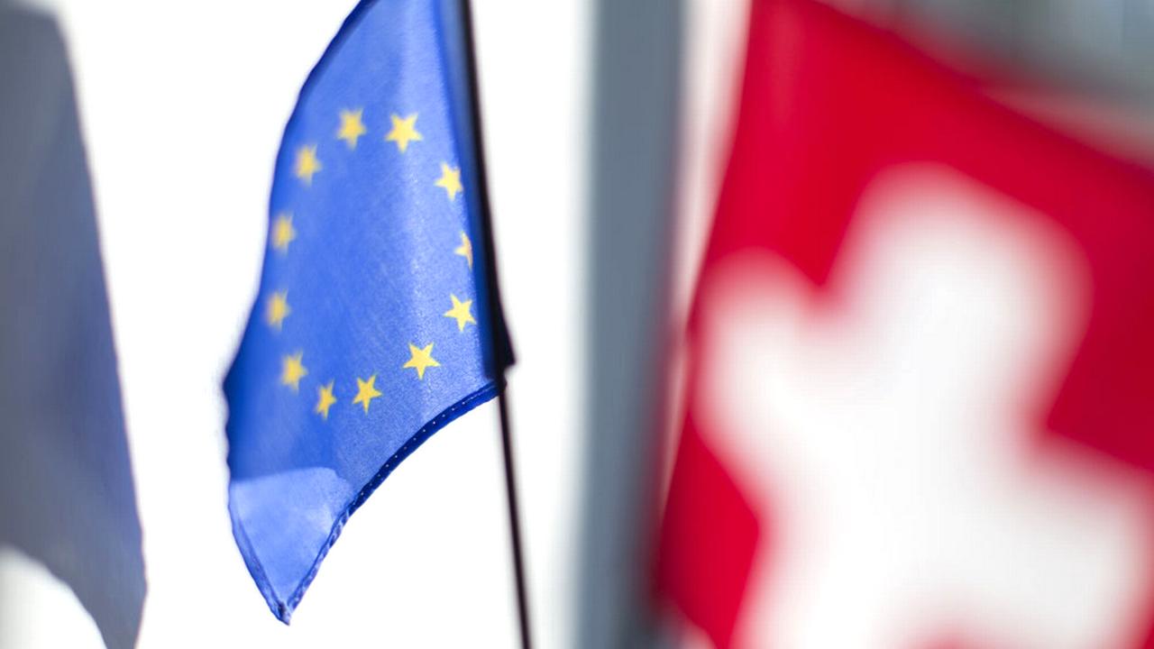 Des rumeurs ont circulé depuis plusieurs mois quant à l'implication de l'UE dans la rédaction de la loi d'application du 9 février 2014. [Gaëtan Bally - Keystone]