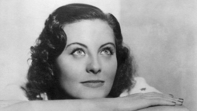 Michèle Morgan en 1937. [AFP]
