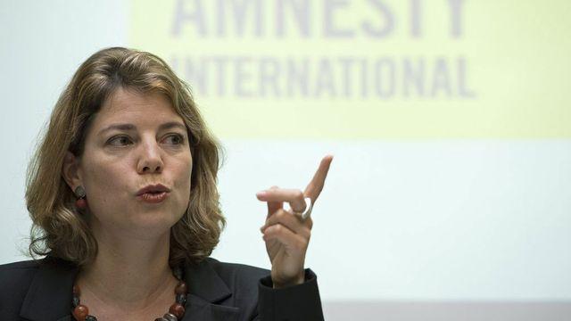 Manon Schick, directrice d'Anmesty Suisse. [Peter Schneider - Keystone]