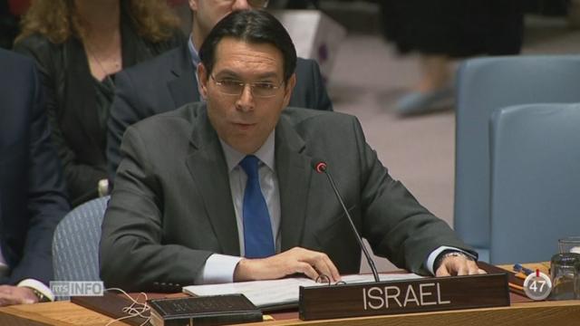 L'ONU demande l'arrêt des colonies israéliennes en Cisjordanie [RTS]