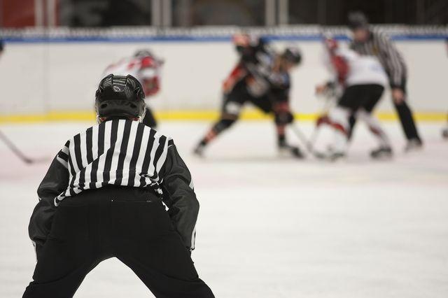 Hockey sur glace. [modestil - Fotolia]