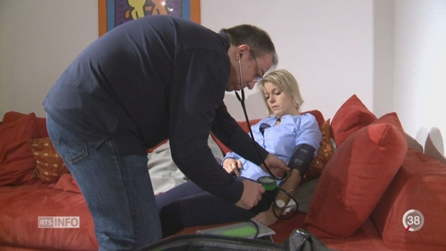 Le canton de Fribourg met sur pied un service d'urgences à domicile [RTS]