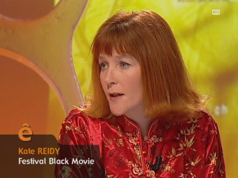 Kate Reidy, la responsable du festival de cinéma Black Movie en 2005.