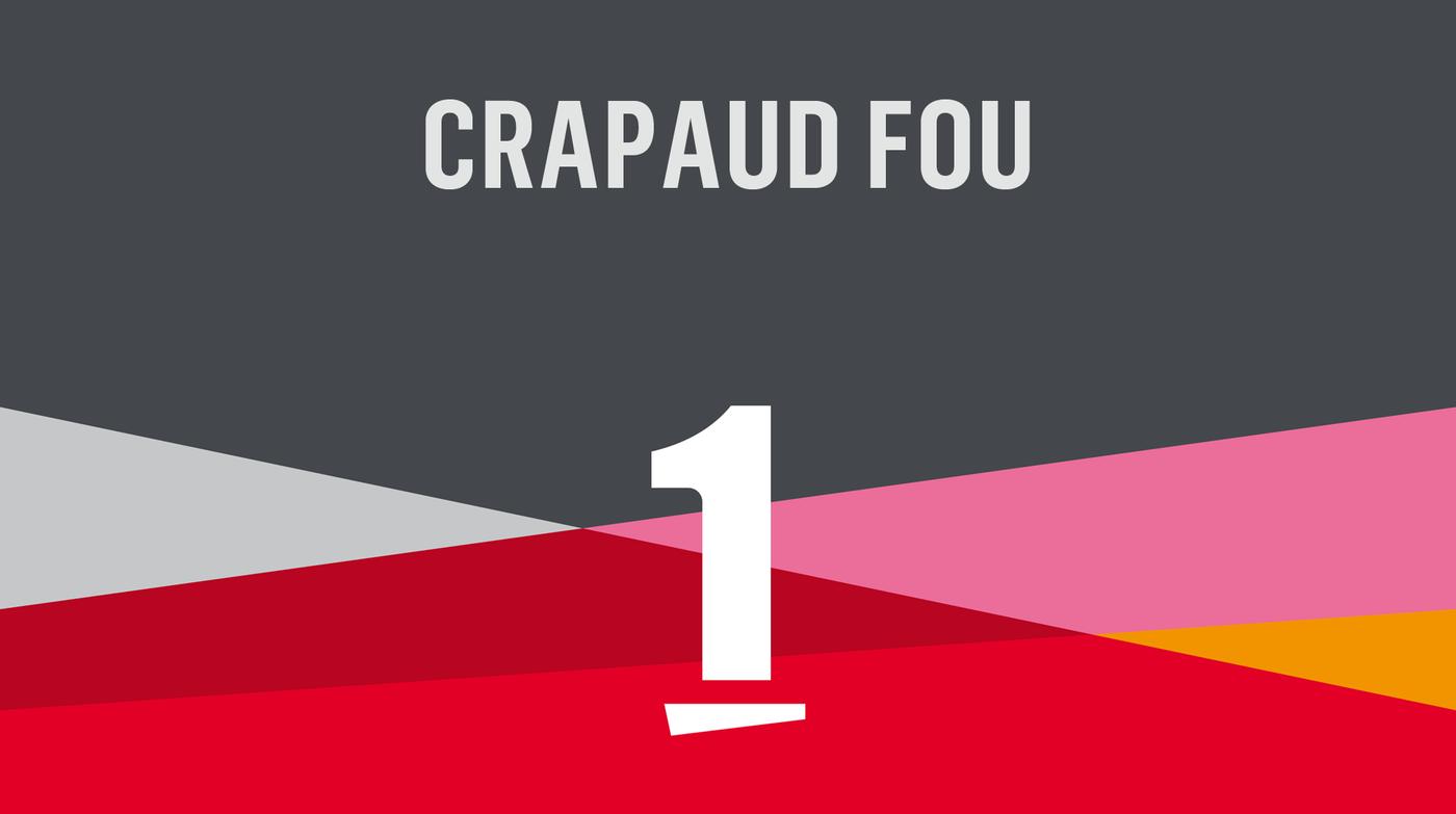 Crapaud fou - La 1ère