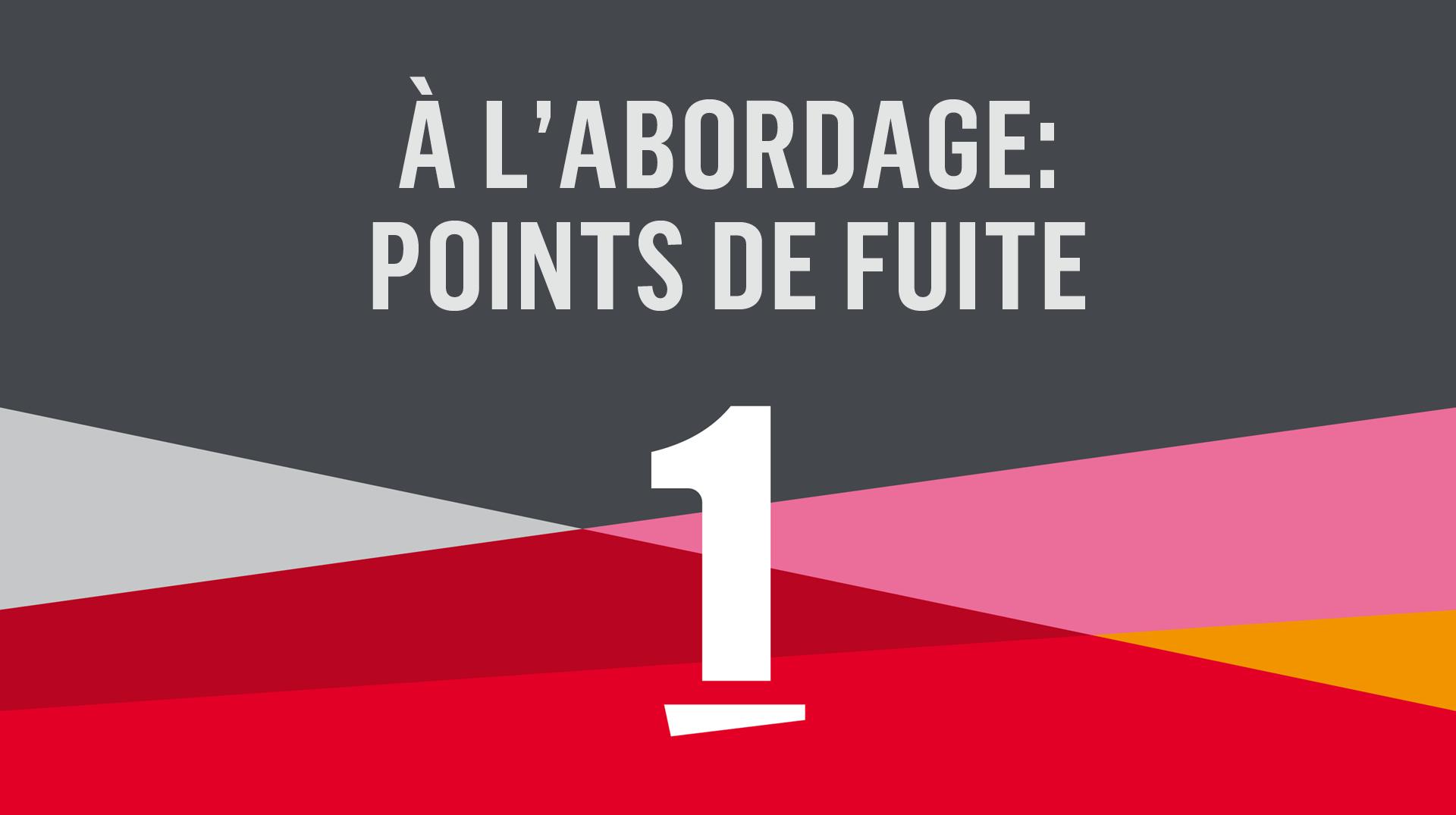 Logo A l'abordage: Points de fuite [RTS]