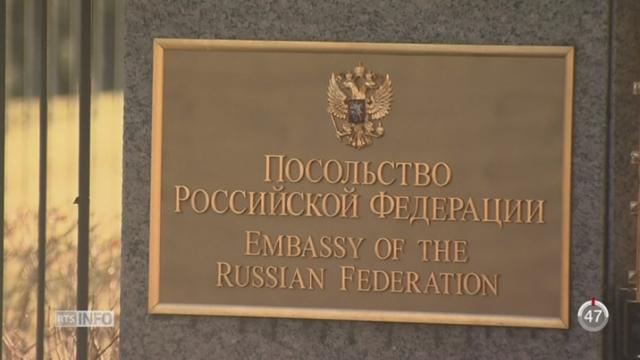 Obama sanctionne la Russie qu'il accuse d'avoir voulu parasiter les élections américaines [RTS]