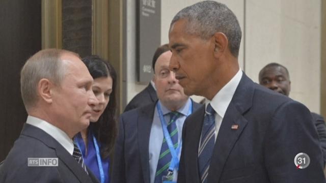 Etats-Unis - Russie: le retour de la guerre froide [RTS]