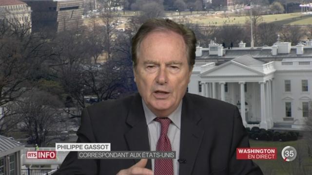 Etats-Unis - Russie: les explications de Philippe Gassot, à Washington [RTS]