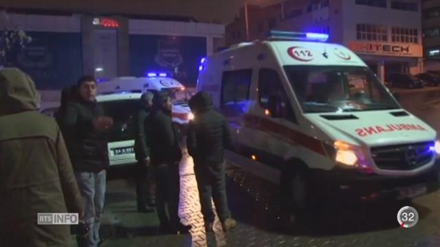 Istanbul: 39 morts dans un attentat le soir de l'an [RTS]