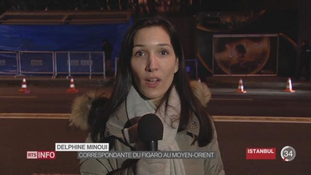 Istanbul - Attentat: les précisions de Delphine Minoui, correspondante du Figaro au Moyen Orient [RTS]
