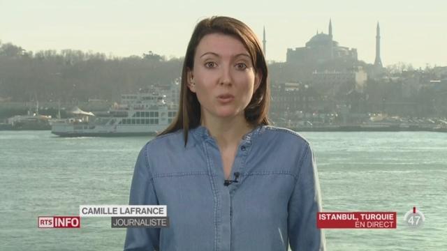 Turquie - Attentat: le point avec Camille Lafrance, depuis Istanbul [RTS]